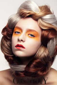 Nastya Sutupova for Hair Graphy Magazine, Seoul