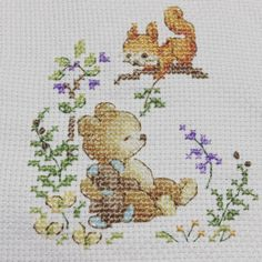 Cross Stitch Art, Cross Stitching, Cross Stitch Patterns, Bunny, Embroidery, Sewing, Arya, Photo And Video, Videos