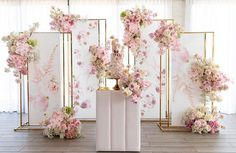 blush pink wedding The post 20 Blush Pink and Ivory Neutral Wedding Color Ideas appeared first on Fox. Wedding Backdrop Design, Wedding Stage Decorations, Backdrop Decorations, Backdrops, Wedding Cake Backdrop, Wedding Themes, Wedding Gowns, Cage Deco, Photowall Ideas