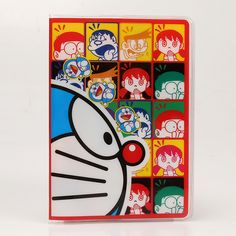 PVC Cartoon travel accessories passport Cover with size 5.5''*3.8''-Doraemon