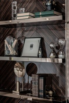 Tycoon Officia Interior Design by PIA on Behance Luxury Interior, Interior Styling, Interior And Exterior, Interior Design, Rack Design, Shelf Design, Bedroom Closet Doors Sliding, Home Office Design, House Design