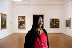 South  African  female Curator