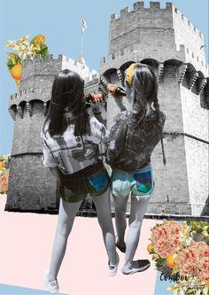 Làmina de Comboi de Tarongina amb col·laboració de Malferida. Porten un trosset de València amb Un Comboi i una Malferida al damunt! 🙌🏻 Ropa pintada a mano Winter Jackets, Fashion, Painted Clothes, Winter Coats, Moda, Winter Vest Outfits, Fashion Styles, Fashion Illustrations