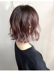 フェニー The Fenny グラデーションピンクアッシュ 髪色 ハイライト オンブレヘア 髪 色