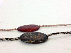 Skipping Stone Hemp Friendship Bracelet, Gifts for Men or Women, by CuriousPurplePig $5.25