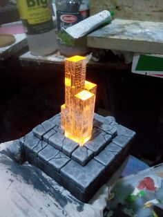 Brilliantly simple idea Excellent execution. Diorama-rama, baby!