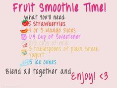 #Fruit #smoothie #recipe #fruitdessert #recipes #easyrecipe fruit smoothie
