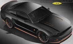 Classic Design Concept Bad Penny Mustang