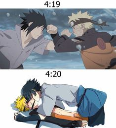 SasuNaru pictures (Completed) - After One Second Naruto Shippuden Sasuke, Anime Naruto, Naruto And Sasuke Kiss, Naruto Comic, Naruto Cute, Boruto, Sasunaru, Madara Susanoo, Narusasu