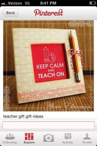 First day of school and a DIY teacher gift