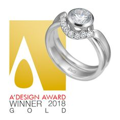 Out Two Forever won a gold award at the A'Design Award! We are beyond proud and are currently working on more Danish bridal sets. Everyday Princess, Currently Working, Bridal Sets, Design Awards, Stay Tuned, Danish, Wedding Rings, Engagement Rings, Unique