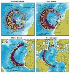 Mega-tsunami previsto regiões norte/nordeste do Brasil ...será que é verdade : onda Gigantesca ...