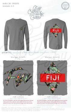 Phi Gamma Delta | FIJI | Tropical Rush T-Shirt Design | South by Sea | Greek Tee Shirts | Greek Tank Tops | Custom Apparel Design | Custom Greek Apparel | Fraternity Tee Shirts | Fraternity Tanks | Fraternity Shirt Designs