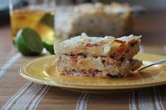 Creamy Chicken Tortilla Casserole - Inquiring Chef