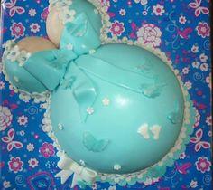 pregnant belly cake zwangerschaps taart