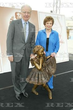 Child Development Center Dedication  Rupert Murdoch and Shirley Temple Black  16 May 2002