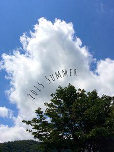 お盆が過ぎて、そろそろ夏の終わりを感じる信州の空