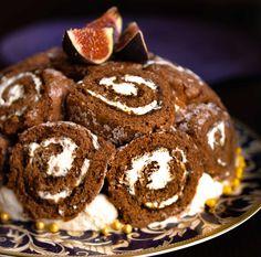 Tumma Charlotte-kakku - Ruoka.fi