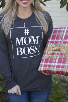 #MOMBOSS long sleeve