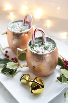 Moscow Reindeer Cocktails • Freutcake