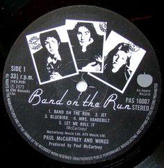 Vinylmania: Paul McCartney Band On The Run, Paul Mccartney, Blue Bird, Music, Musica, Musik, Muziek, Music Activities, Songs