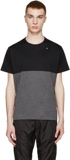 08Sircus - Black & Grey Logo T-Shirt