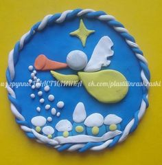 Рождество Origami, Clay Art Projects, Diy And Crafts, Cake, Christmas, Play Dough, Cold Porcelain, Fimo, Pie Cake