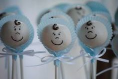 baby shower cake pops - Google Search