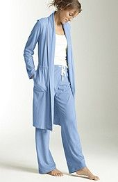 J.Jill Sleep drawstring robe, $79