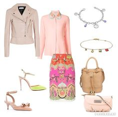 Весна по Кибби: комплекты с юбками для всех типажей. Spring outfits with skirts for all KIBBE TYPES.
