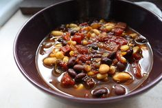 Espresso Bean Chili-->sounds weird, but I guarantee you'll be as obsessed as I was