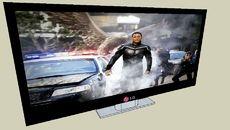 3D Model of LG TV