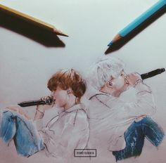 """""""my first drawing. Boy Pictures, Pictures To Draw, 2ne1, Bts Spring Day, Yoonmin Fanart, Got7, Culture Pop, Kpop Drawings, Big Bang"""