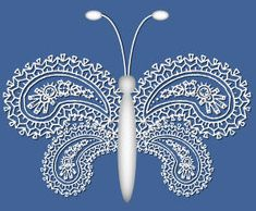 PSP Tutorial - Lace Butterfly