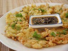 Korean Fish Patties / Saeng Son Jon