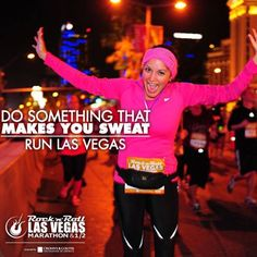Do something that makes you sweat! #runlasvegas #rocknrollmarathon