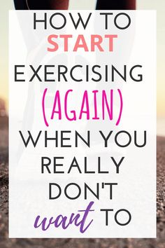 You want to start exercising more or to begin again but you dont know where to start What you need are simple tips and the motivation to start your fitness plan Check out. Fitness Workouts, Fitness Motivation, You Fitness, Easy Workouts, Fitness Diet, At Home Workouts, Health Fitness, Motivation To Exercise, Motivation To Work Out