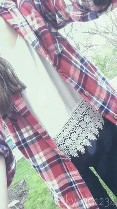 My ootd shirt:urban outfitters flannel: f21 capris: mandees -kyra