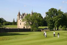 The amazing castle of the Golf de la Bretesche #France