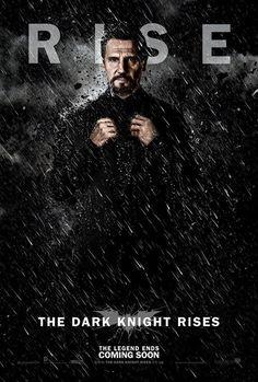 El caballero oscuro: la leyenda renace. Nuevos pósters