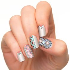Incoco Nail Polish Strips, Nail Art, New Directions ** This is an Amazon Affiliate link. Click image to review more details.