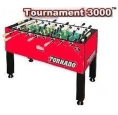 Custom Tornado T-3000 Foosball Table (Single Goalie) Valley-Dynamo http://www.amazon.com/dp/B005LIN79C/ref=cm_sw_r_pi_dp_taP-wb0PFSRRX