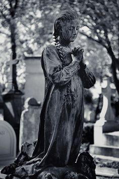 Always in Prayer....Pére Lachaise Cemetery, Paris, France.