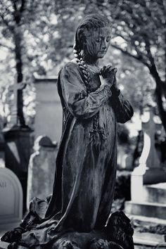 Always in Prayer....Pére Lachaise Cemetery, Paris, France
