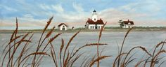 Dungeness Lighthouse - Julie Peterson Oil Paintings (East Wenatchee, WA)