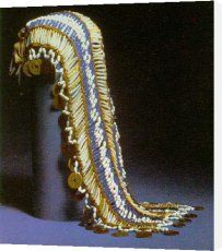 Native American bridal headdress