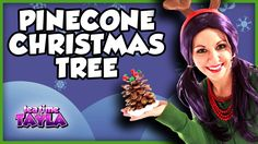 Pine Cone Christmas Tree - Arts and Crafts for Children - Christmas Crafts