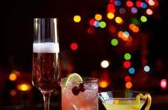 For a celebratory Christmas drink, try this Royale Fizz.   Tesco