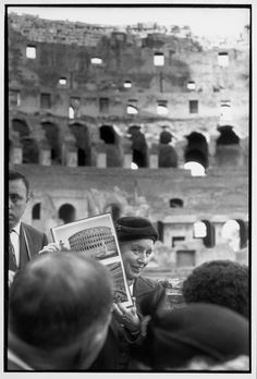 Rome, Italy 1959 by Henri Cartier Bresson