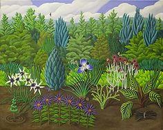 The Garden: Jane Troup: Giclee Print | Artful Home
